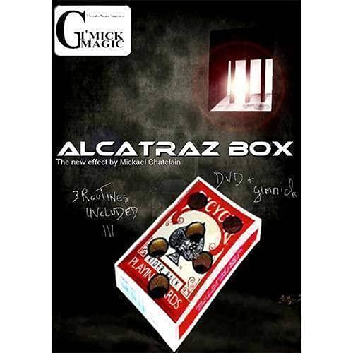SOLOMAGIA Alcatraz Box by Mickael Chatelain (Dvd & Red Gimmick) - Originale - Dvd e Didattica - Giochi di Magia