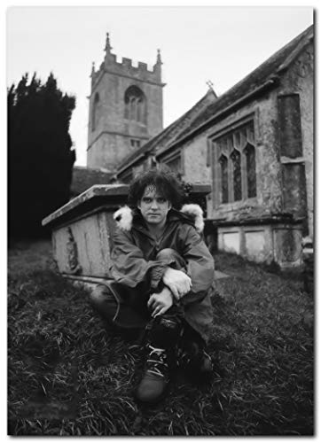Wall decor Robert Smith Poster (13 x 19 Inches) | Ready to Frame for Office, Living Room, Dorm, Kids Room, Bedroom, Studio