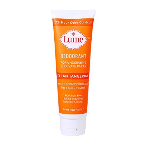 Lume Deodorant For Underarms & Private Parts 3oz Tube (Clean Tangerine)