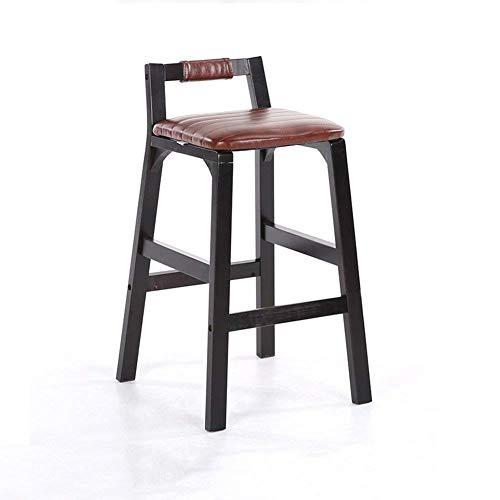 N/Z Tägliche Ausrüstung Stuhl Massivholzrahmen Hoch Rezeption Frühstück kann zusammengestellt Werden Barhocker C.
