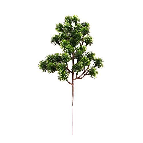 Austinstore 1 Stück Kunststoff Gefälschte Künstliche Kiefer Zypresse Pflanze Bonsai | DIY Hauptbalkon-Hochzeits-Café-Party-Dekoration D