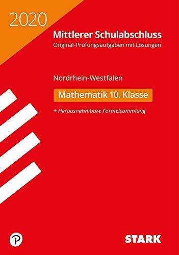 STARK Original-Prüfungen Mittlerer Schulabschluss 2020 - Mathematik - NRW