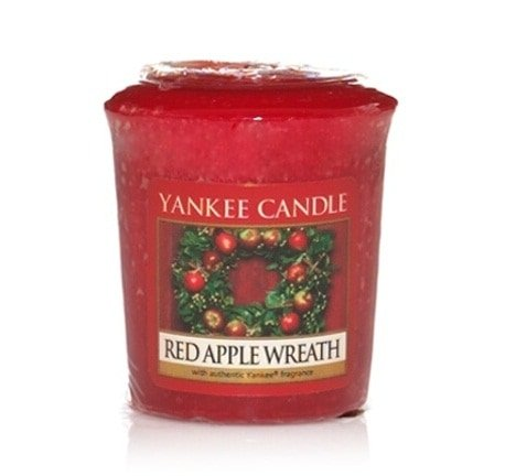 Yankee Candle Small Votive Candles Sampler Red Apple Wreath Set x18 Pieces
