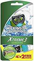Wilkinson Xtreme3 Flexible Comfort + Sensitive, 6 Stuk
