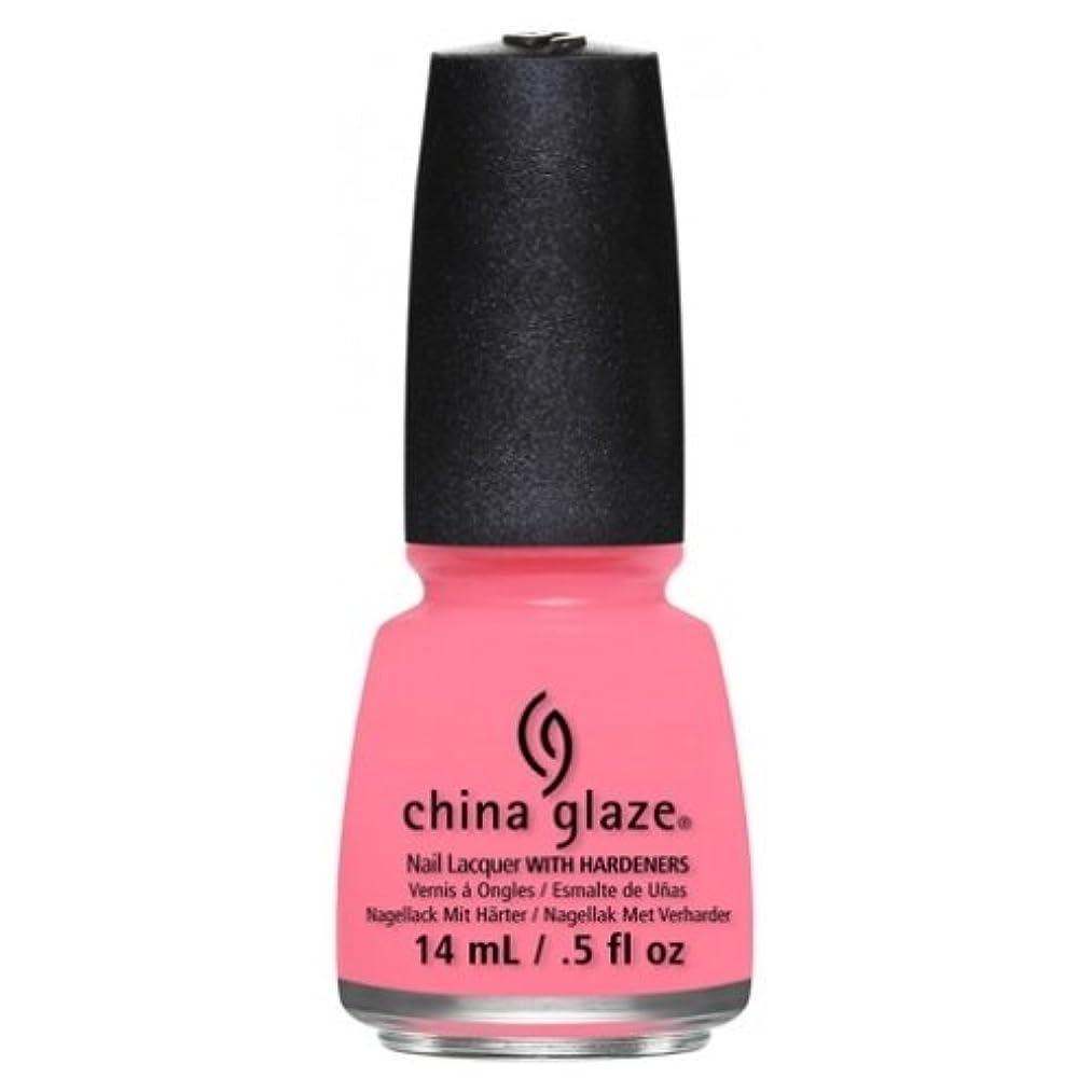 独立して前投薬太平洋諸島CHINA GLAZE Nail Lacquer - Art City Flourish - Petal To The Metal (並行輸入品)