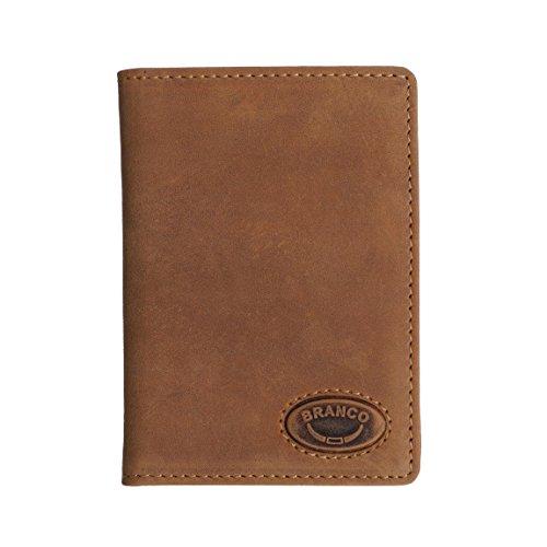 Branco Leder - kleine edle Dokumentenmappe Ausweishülle Führerscheinhülle Kartenmappe Kreditkartenhülle, in versch. Farben - präsentiert von ZMOKA®