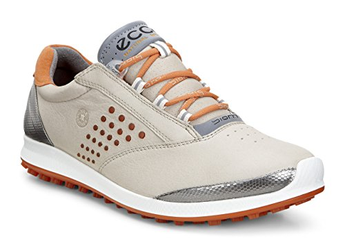 Ecco Womens Golf Biom Hybrid 2 - Zapatos de Golf para Mujer, Color Naranja, Talla 37
