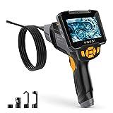 Cámara endoscópica Cámara de inspección Digital 5M Portátil Cámara endoscópica Impermeable 4.3 Pulgadas Pantalla LCD 1080 P HD Cámara de Video de boroscopio