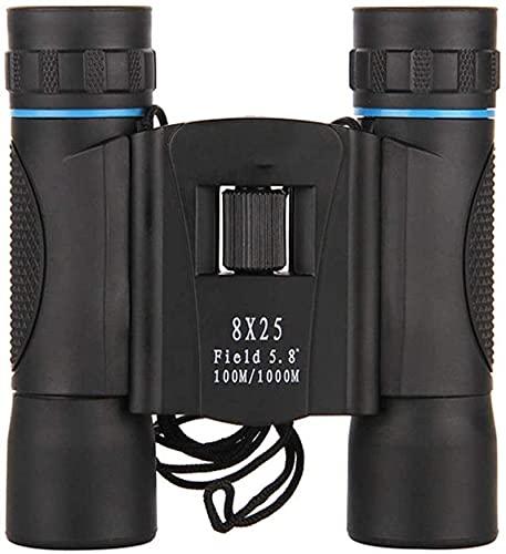 Binoculares de Alta Potencia, telescopio para Adultos, prismáticos de Alta Potencia con Nivel de Hoja de Arce 8X32, binoculares de Alta Potencia, Alta Potencia para Exteriores