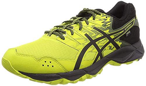 Asics Gel-Sonoma 3 G-TX, Zapatillas de Running Hombre, Amarillo (Sulphur Springblackfour Leaf Clover 8990), 39 EU