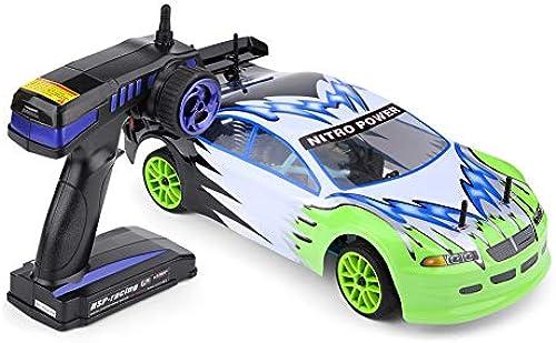 Dilwe HSP 1 10 RC Gel ewagen, Fernbedienung Modell fürzeug Allradantrieb Gasbetriebene RC Cross Country Auto
