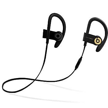 Powerbeats3 Wireless In-Ear Headphones - Trophy Gold  Black/Gold   Renewed