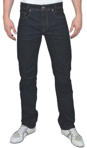 MAC Herren Straight Leg Jeanshose Arne, Blau (Authentik Dark Blue H750), 33W / 32L