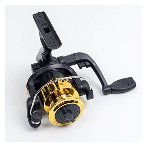 Bait reel Gold 5.1:1 Spinning Pesca Carrete de carrete Copa de alambre Cupo automático Plegable Costeriatura Placer a la izquierda Océano reel