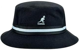حذاء Kangol رجالي مخطط، أسود، مقاس متوسط