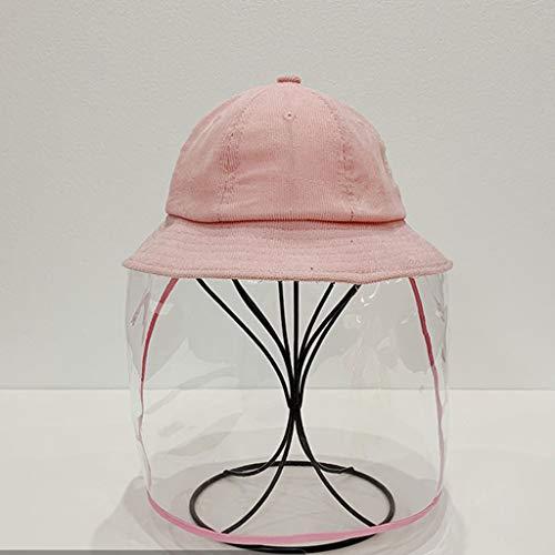 TYYW LHYOZ Capuchon de Protection, Bouchon Anti-Mousse, matériau de Velours côtelé, Doux et agréable for la Peau, Rose Jaune Capot de Protection (Color : Pink, Size : M)