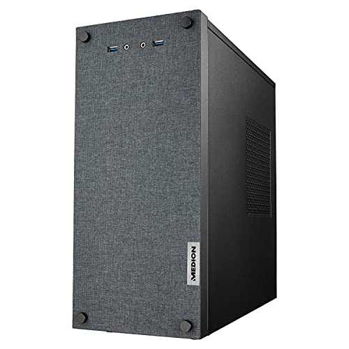 MEDION E66017 Desktop PC (Intel Core i5-10400F, 8GB DDR4 RAM, 512GB SSD, GeForce GT1030, WLAN, Win 10 Home)