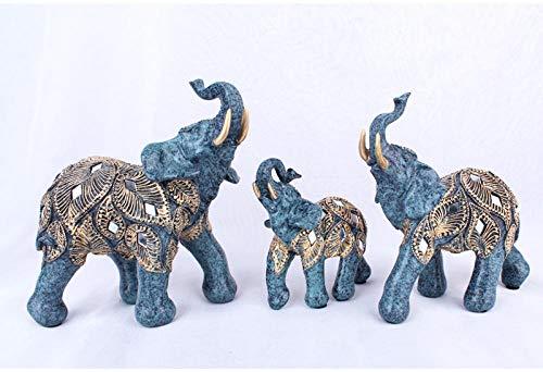 LOSAYM Estatuas para Jardín Esculturas Y Estatuas De Jardín Patrón Europeo Elefantes...