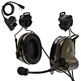 TAC-SKY Airsoft Headset Comta II Helmet Version Sound Pick Up for Outdoor Activities