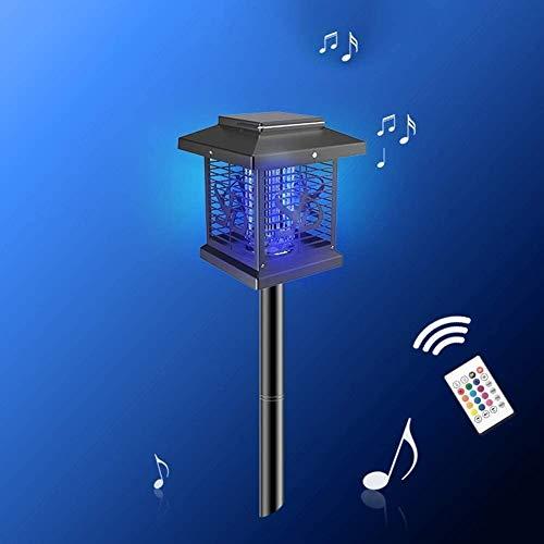 KaiKai Moskito-Kontrolle, solarbetriebene UV-Licht, Geschäft for die Verwendung im Freien, wie Garten, Hof Rasen, Campus Rasen, Fußballfeld, Landschaft Garten