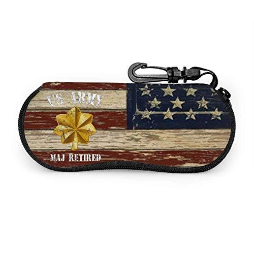 Arvolas Estuches para anteojos con mosquetón, estuche blando para oficiales de soldado veterano mayor retirado del ejército
