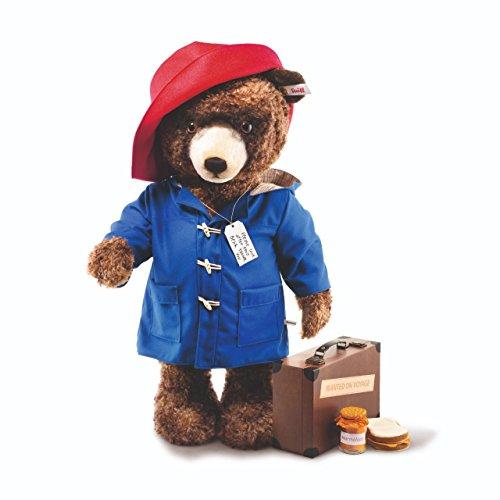 Steiff 690365 Paddington mit Hut und Koffer 106 cm braun/blau/rot limitiert UK