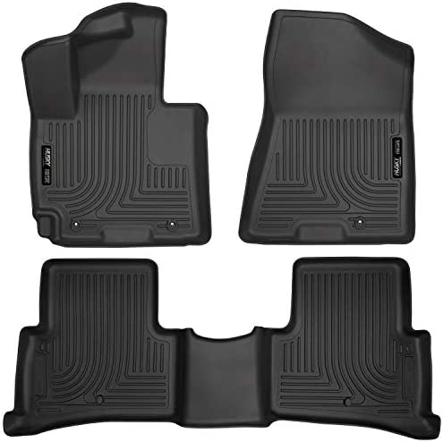 Husky Liners 99681 Fits 2016 18 Hyundai Tucson Weatherbeater Front 2nd Seat Floor Mats Black product image