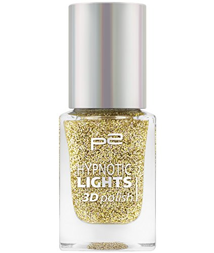 p2 cosmetics Hypnotic Lights 3D Polish 030, 3er Pack (3 x 10 ml)