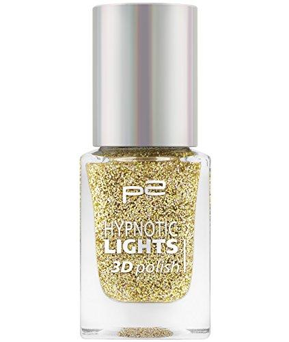p2 cosmetics Hypnotic Lights 3D Polish 030, 3er Pack (3 x 10 ml)
