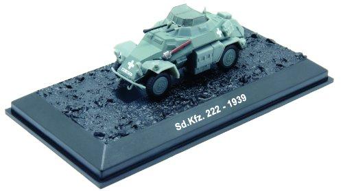 Sd.Kfz. 222 - 1939 diecast 1:72 model (Amercom BG-73)