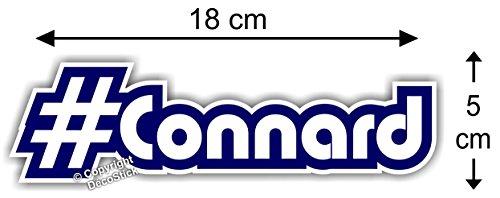 Sticker Hashtag #Connard - Autocollant Humour Cadeau