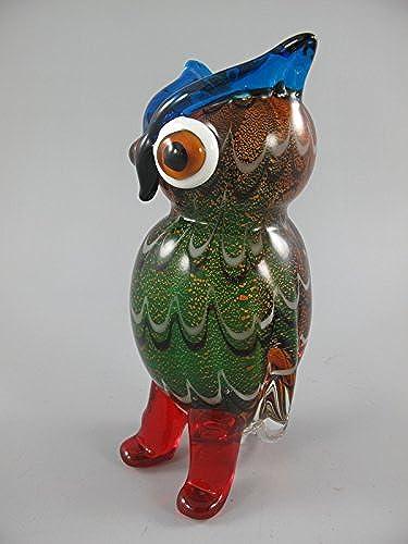 Glas Figur farbe H.22x10x11cm