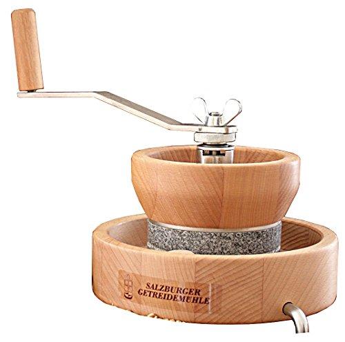 Hand-operated Grain Mill Model MH 4 with Grindstones Corundum Ceramic