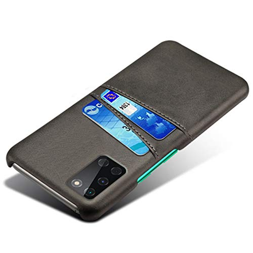 HualuBro Cover per OnePlus 8T, Ultra Sottile e Leggero PU Pelle Slim Antiurto Case Portafoglio Custodia per OnePlus 8T Cover (Nero)