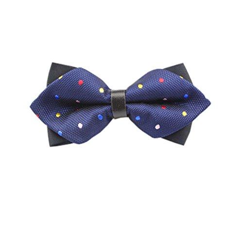 Black Temptation De Haute qualité des Hommes d'affaires Bowties de soirée de Mariage Bow Tie,10