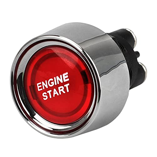 XISONGYU El Interruptor de Encendido de la luz de la luz roja de 12V 50A se Ajusta al Deporte de Carreras Off-ON YC101599 (Color : Red)