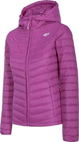 4F Damen Steppjacke Faizar Jacke, Pink, XL