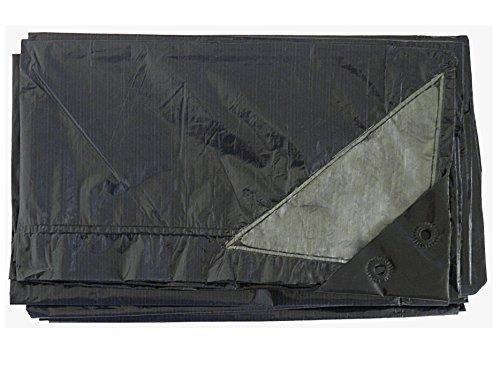 Chalet et Jardin - B1,5*6-70-B - Bâche de Protection Plastique - Noir