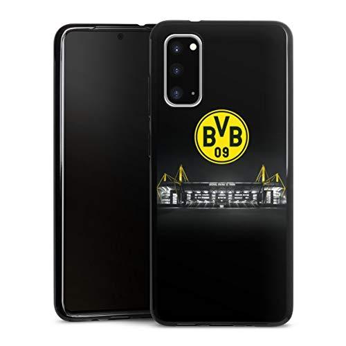 DeinDesign Silikon Hülle kompatibel mit Samsung Galaxy S20 Case schwarz Handyhülle BVB Stadion Borussia Dortmund