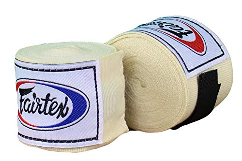Fairtex Elastic Cotton Handwraps HW2-180 and 180'- Full Length Hand Wraps. Many Colors