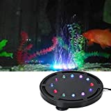 SZTC Luz de Burbuja subacuática LED para Acuario, Tanque de Peces Sumergible, luz LED de burbujeador de Aire, Bomba de Aire, lámpara de Piedra de Burbujas para decoración de peceras