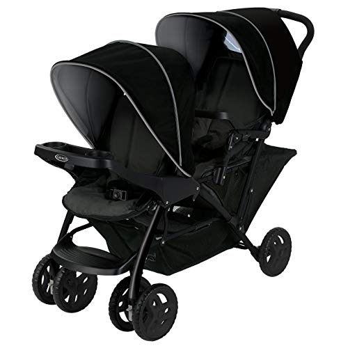 Stadium Duo Geschwisterwagen Black/Grey