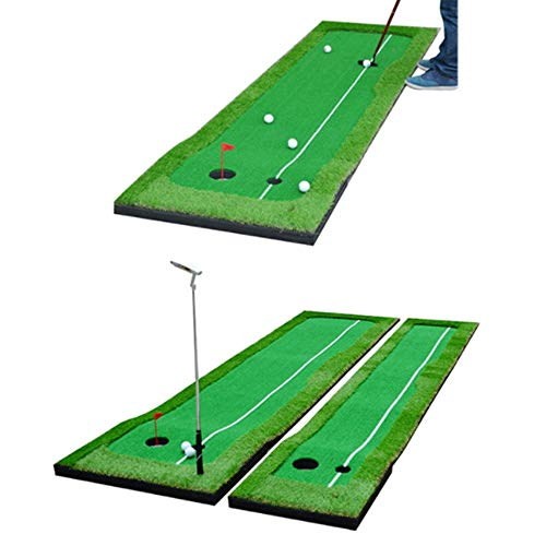 Best Deals! Durable Men Golf Putting Green/Mat-Golf Training Mat- Professional Golf Practice Mat- Gr...