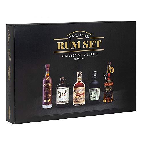 Sierra Madre Rum Tasting Set 5x50ml wiederverschließbare Tubes Ideal als Geschenk