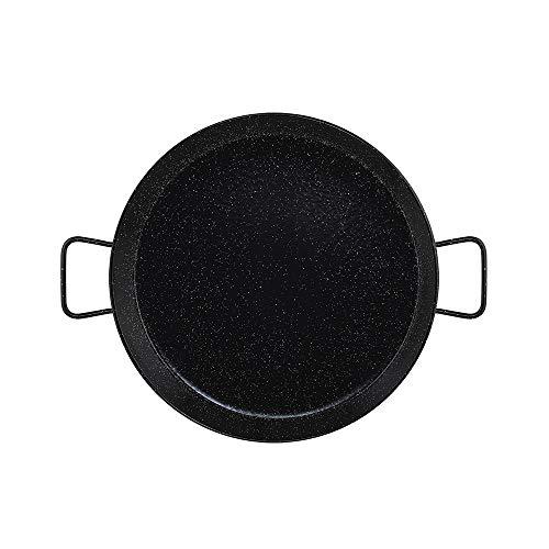 Metaltex - Paellera Acero Esmaltado 12 Raciones 46 cm