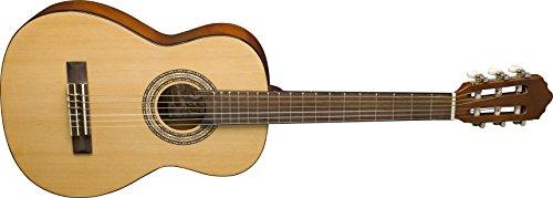 Oscar Schmidt OCHS-A-U 1/2 Size Classical Guitar. Natural (High Gloss)