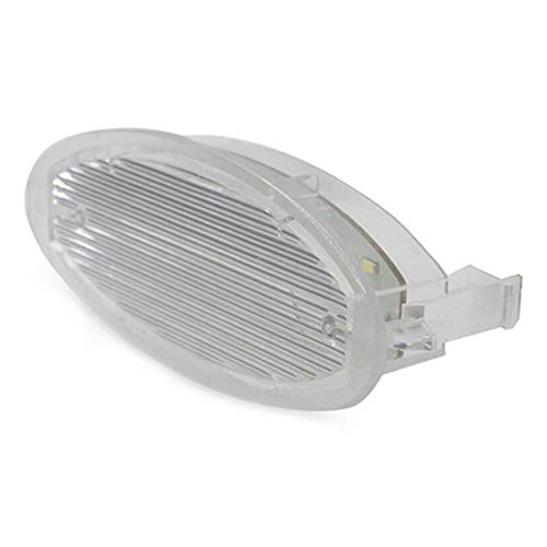 MuChangZi 1 Unids 24 LED Sin Error Placa de Matrícula Placa de Luz Placa de Placa para O/Pel Astra F Corsa B Vectra Auto Accesorios