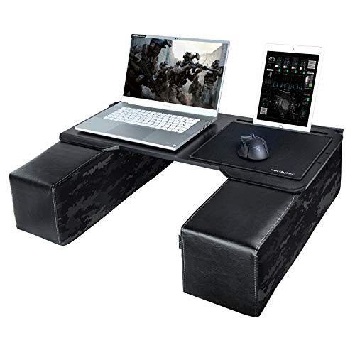 Couchmaster® CYBOT (Ergonomisches Lapdesk für Notebooks oder Wireless Peripherie, inkl. Kissen, geeignet für Couch/Bett)