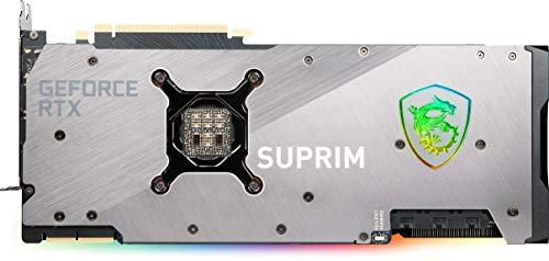 MSI GeForce RTX 3090 SUPRIM X 24G Scheda Video Gaming TRI FROZR 2S , TORX Fan 4.0, 24GB GDDR6X, 384 bit, PCI Express Gen 4, DisplayPort v1.4a, HDMI 2.1, Zero Frozr, ideale per 4K, Ray Tracing
