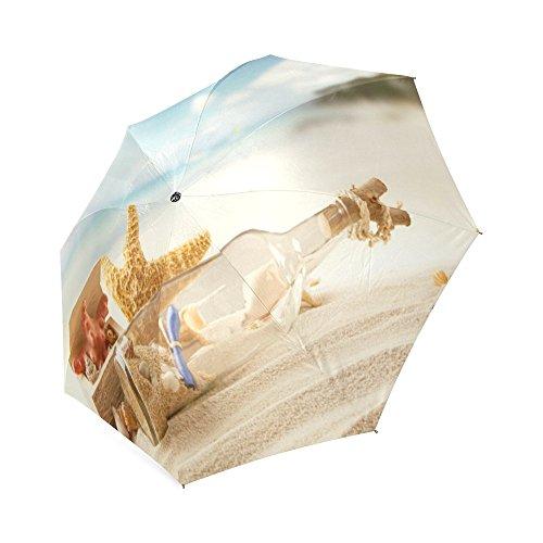 Tragbar Seestern Regenschirm Custom Auto zusammenklappbar Sonne und Regen Regenschirm